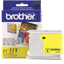 Brother LC51Y Ink Cartridge