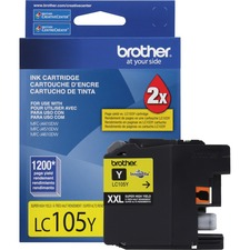 Brother LC105Y Ink Cartridge